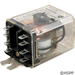 Schrack Dustcover Relay 6Vdc 15A Dpdt -