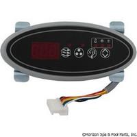 Hydro-Quip Eco-2 Oval Spaside Control 10` (P1,Aux,L) - 34-0200