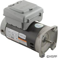 A.O. Smith Electrical Products Motor, Aos 2Green W/Timer, 1 Hp, 230V, 2-Spd, 1.65 Sf - B2982T