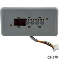 Gecko Alliance Tsc-18/K-18 Sm Rect, 4-Button, Led Display, No Label - BDLTSC18PPD