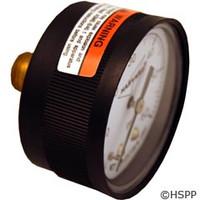 """Generic Pressure Gauge 1/4""""Mpt, 0-60Psi, Back Mount - IPPG602-4B"""