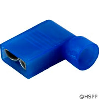 "Generic Right Angle Female Disc., Blue 16-14Awg .250"" Tab (Pkg 25) -"