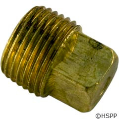 "Hayward Pool Products 3/8"" Brass Plug - HAXPLG1931"