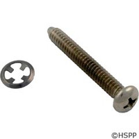 Hayward Pool Products Face Rim Lock Screw W/Fastener -Plastic - SPX0580Z1
