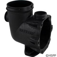 "Hayward Pool Products Pump Strainer Housing 2""X2"" W/Drain Plugs,Threaded - SPX3200A"