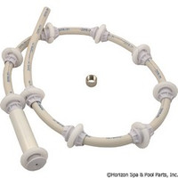 Hayward Pool Products Sweep Hose,W/Rollers & Clamp - AX5000RSHA