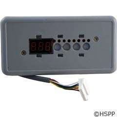 Hydro Quip Eco-5 Control Panel, 10`, Small Rectangle, 4B, No Label - 34-0207-U