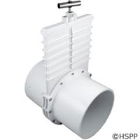 "Valterra Products 8"" Valve, Sxs, Pvc-White - 6801"