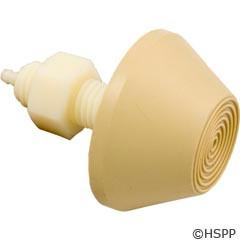 Tecmark Corporation Tdi Raised Cone Button, Beige - PT13130-03