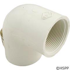 "Lasco 90 Elbow Pvc 1.5"" Sxfpt - 407-015"