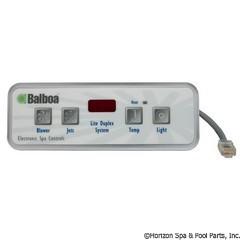 Balboa Water Group Panel, Lite Duplex Digital Led - 51676