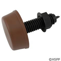 Herga Electric Mushroom Button, Thd, Brown -