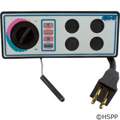 Len Gordon Aquaset, 4 But, 120V, 10Ft, 4001-4Ss (With Faceplate) - 930750-516