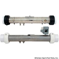 """Balboa Water Group Flo Thru Htr. 2""""X15"""" 4.0Kw/240(180O P/S)Balboa - 58004"""