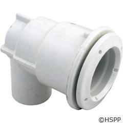 "Waterway Plastics Adjustable Mini Jet Body, No Air X (3/4""S/1""Spg) Barb Water - 222-1070"