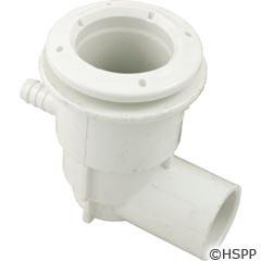 """Waterway Plastics Adjustable Mini Jet Body 3/8""""Bax3/4""""Sw Ell - 222-1050"""