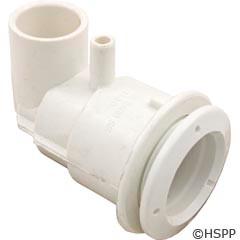 "Waterway Plastics Adjustable Mini Jet Body 3/8""B X 3/4""S Same Side - 222-1130"