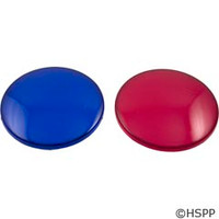 Waterway Plastics Red & Blue Light Lens Set - 630-0005