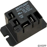 Zettler Power Relay (Z2280-1A-120A)Mini 30A Spst 120Vac -