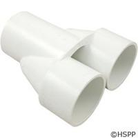 """Waterway Plastics Manifold Wye, 2"""" S X 2"""" S X 2"""" S - 672-8000"""
