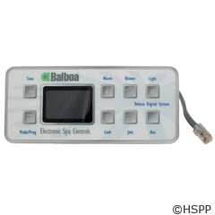 Balboa Water Group Panel, Deluxe M-Series (P1,Air,Aux) - 54128