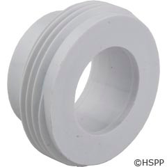 Mundial 40Mm Union Adaptor Only-Outlet,Syllent, New Style, White - 92400
