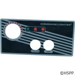 Tecmark Corporation 2-Btn Cc Faceplate W/O Display - 30214BM