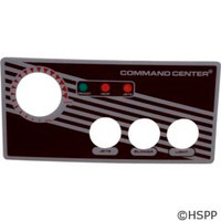 Tecmark Corporation 3-Btn Cc Faceplate W/O Display - 30216BM