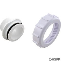 """Pentair Pool Products 2"""" Threaded Bulkhead Adapter Kit (Set Of 2) - 271092"""
