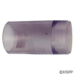 """Pentair Pool Products Clear Sight Glass Nipple 2"""" - 154566"""