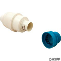 Pentair Pool Products Automatic Regulator Valve, White & Cap - K12004