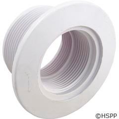 """Pentair Pool Products Gunite/Concrete Wallfitting,Std Bdy,1.5""""Mpt X 1.5""""Fpt,White - 542404"""