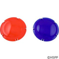 Pentair Pool Products Lens Cover Lt Plstc Blue & Red Set - 79105400