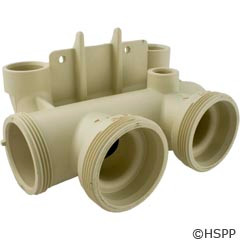 Pentair Pool Products In/Out Bottom Sub-Header Nt Std 200/250/300/400 - 472364