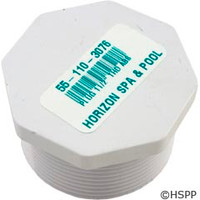 "Pentair Pool Products Plug 11/2"" Thd Abs - 51001900"