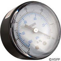 Pentair Pool Products Vacuum Gauge - R36006
