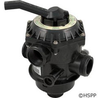 "Pentair Pool Products Valve 1.5"" 6-Way Clamp Style - 262506"