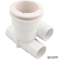 """Waterway Plastics Poly Jet Body 1""""Sx1""""S No/Plug - 210-5830"""