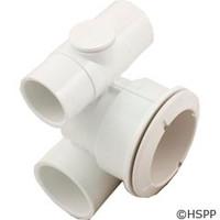 """Waterway Plastics Poly Jet Body, 1""""Ax1-1/2""""Wx1/2""""Plug - 210-5860"""