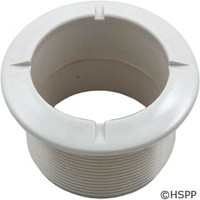 Waterway Plastics Poly Jet Long Wall Fitting White - 215-1760