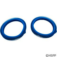 Poolvergnuegen Front Tire Kit W/Super Humps Blue(Solid Hump)2/Kit Concrete - 896584000-143