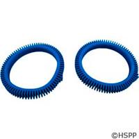 Poolvergnuegen Front Tire Kit W/Super Humps Blue(Solid Hump)2/Kit Concrete - 896584000-143