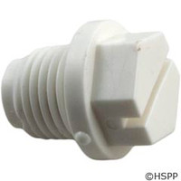 "Praher Canada Ltd 1/4""Plug (Abs) White, 1-1/2"" & 2"" Valves - E-15-S1"
