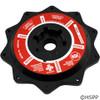 "Praher Canada Ltd Cover Abs (Black), 2"" Valve, W/O-Ring - E-6-S2B"
