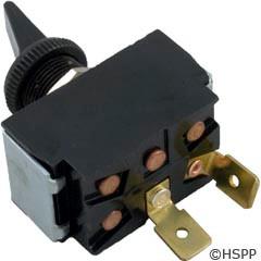 Raypak Switch-Toggle Spst 3A/6A Blk - 650595