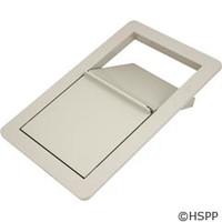 Jacuzzi Whirlpool Bath Jwb Skimmer/Wier Frame Assy Silver - 6639945