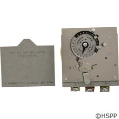 Borg General Controls Reliance 24Hr Timer 120V Spst 40A -