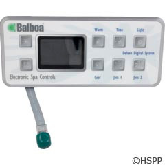 Balboa Water Group Panel, Serial Deluxe Digital (2-Jet, No-Blwr) - 51226