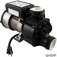 Waterway Plastics Genesis Bath Pump Complete, 7.5Amp, Nema Cord, Air Switch - 321HF10-0150
