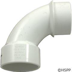 "Waterway Plastics 90 Sweep Ell 2"" Sxspg Pvc - 411-9120"